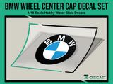 BMW Wheel Center Cap Decal Set