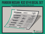 Pandem Nissan R32 GT-R Decal Set