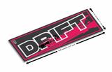 Drift  Vinyl Slap Sticker