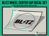 Blitz Wheel Center Cap Decal Set