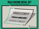 Volk Racing Decal Set