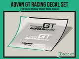 Advan GT Racing Decal Set