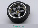 "18"" Work Meister S1 3P Alloy (Optional Detailing Bolts)"