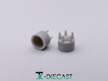 Lug Nut Hub Adapter 5 Bolt w/ Axle Nut
