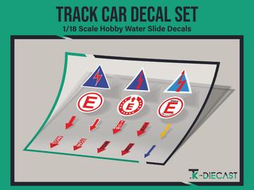 Track Car Decal Set