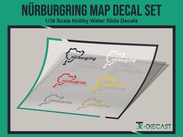 Nürburgring Map Decal Set