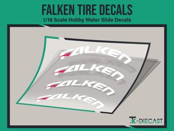 Tire Decal 03 (Falken)