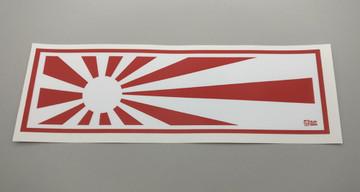 Rising Suns Vinyl Slap Sticker