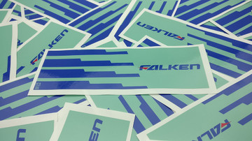 Falken Vinyl Slap Sticker