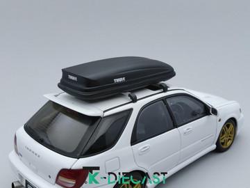 Universal Roofbox V2 Set; Black