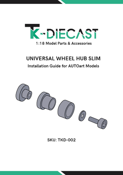 Wheel Hub Guide - AUTOart