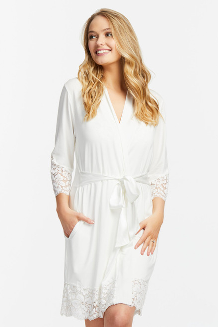 Everlasting Short Robe W/lace