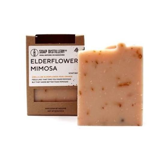 Soap Distillery Elderflower Mimosa Soap Bar