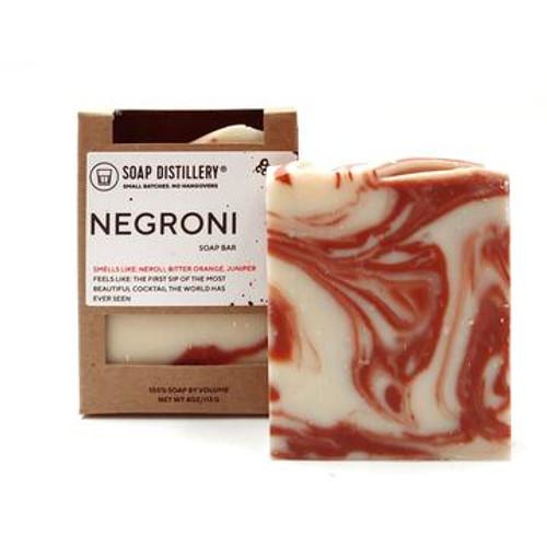Soap Distillery Negroni Soap Bar