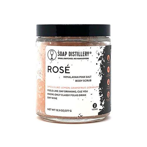 Soap Distillery Rose Body Scrub