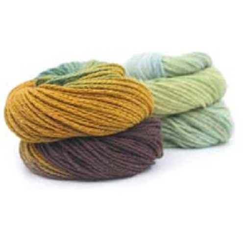 Lino  Print Hand Dyed  from Trendsetter Yarns screams all year long fiber. The Cotton and Linen combo keeps it light for so many projects. The hand dyed aspect is an  added bonus.