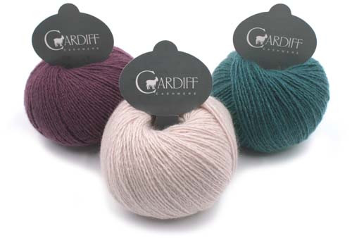 Cardiff Cashmere  Yarns Small
