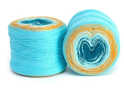 Hikoo Yarns Concentric Cotton