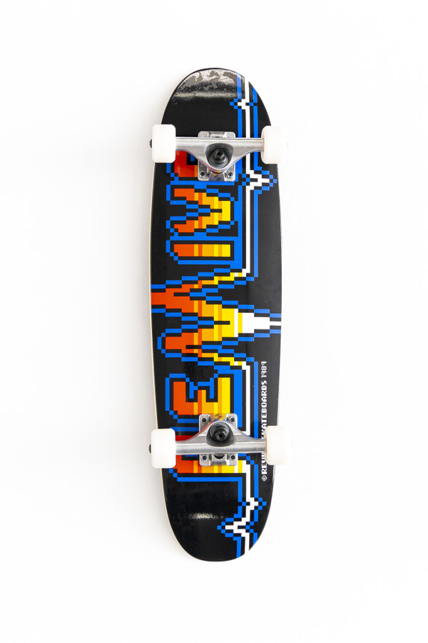 Revive Skateboards 8-Bit Cruiser Complete Skateboard including FORCE Warp 54mm Conical Wheels from the Shredquaters UK & EU