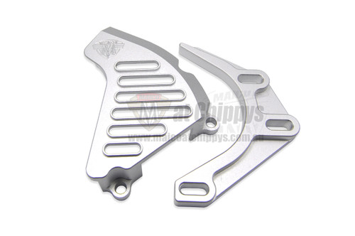 Sprocket Cover with Case saver Maico 78-82 Alloy Silver