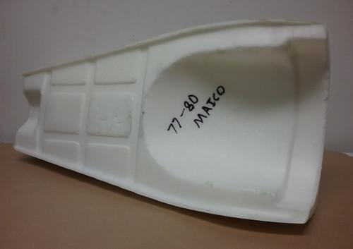 Seat Foam Maico 77-80 Std