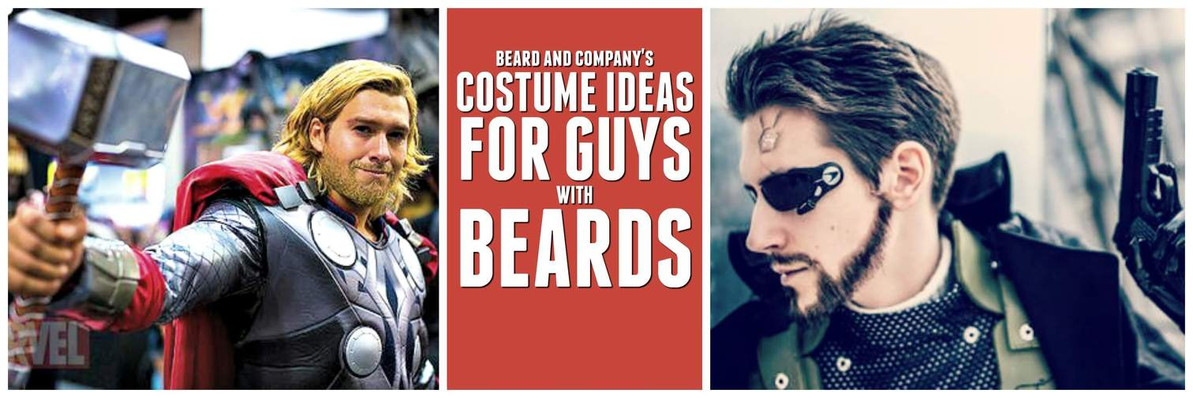 998f78e58223d The Best Halloween Costume Ideas for Guys with Beards  2018  - Beard ...