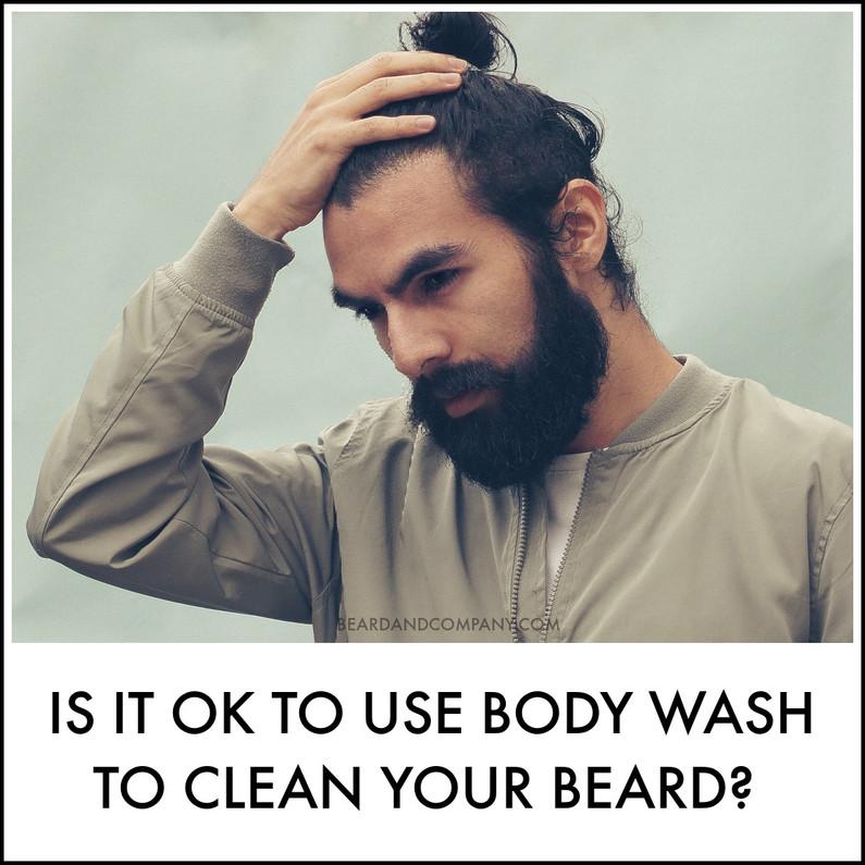 Can I Use Body Wash in My Beard Instead of Beard Shampoo?