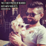 The 20 Best Photos of Bearded Guys with their Pets