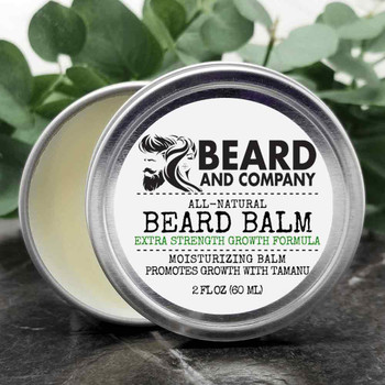 beard and company extra strength beard growth balm