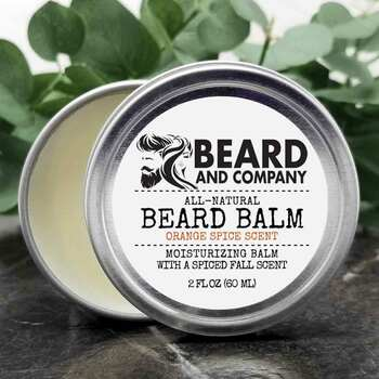 beard and company orange spice beard balm