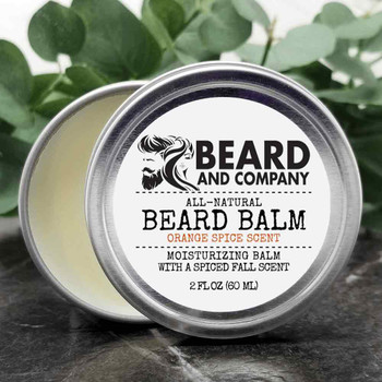 beard and company orange spice beard balm