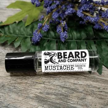 beard and company mustache growth oil