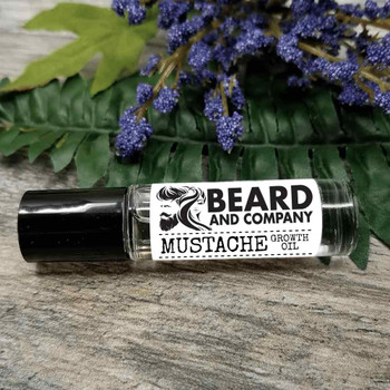 beard and company mustache growth oil