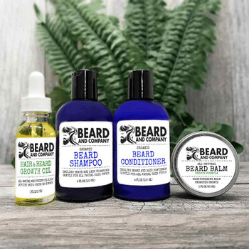 beard and company beard growth grooming kit