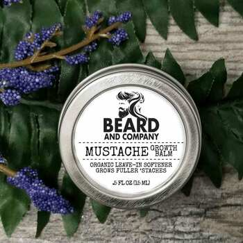beard and company mustache growth balm