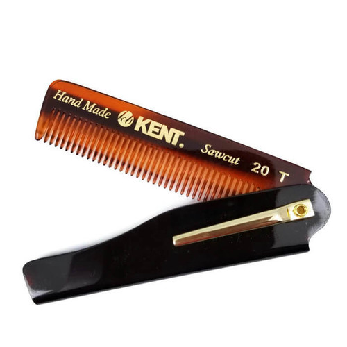kent 20t folding beard comb