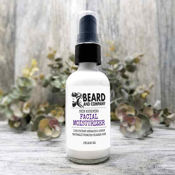 beard and company skin renewing facial moisturizer