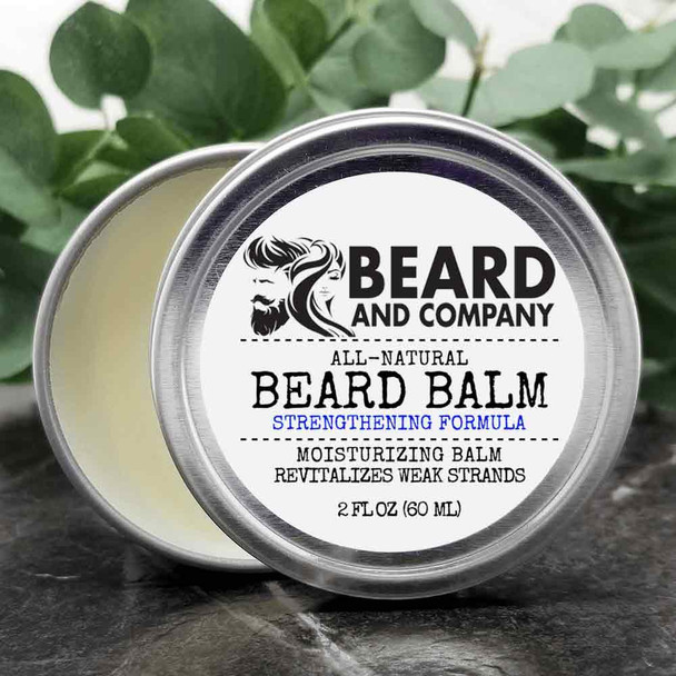 beard and company beard balm strength formula