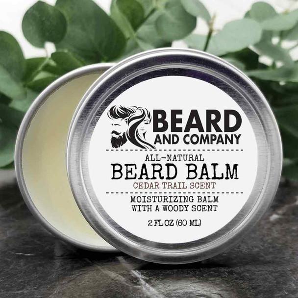 beard and company cedar trail beard balm