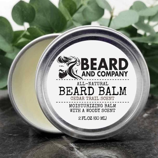 beard and company cedar trail beard balm