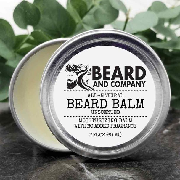 beard and company unscented beard balm