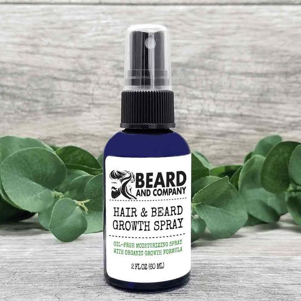beard and company hair and beard growth spray