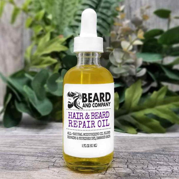 beard and company hair and beard repair oil