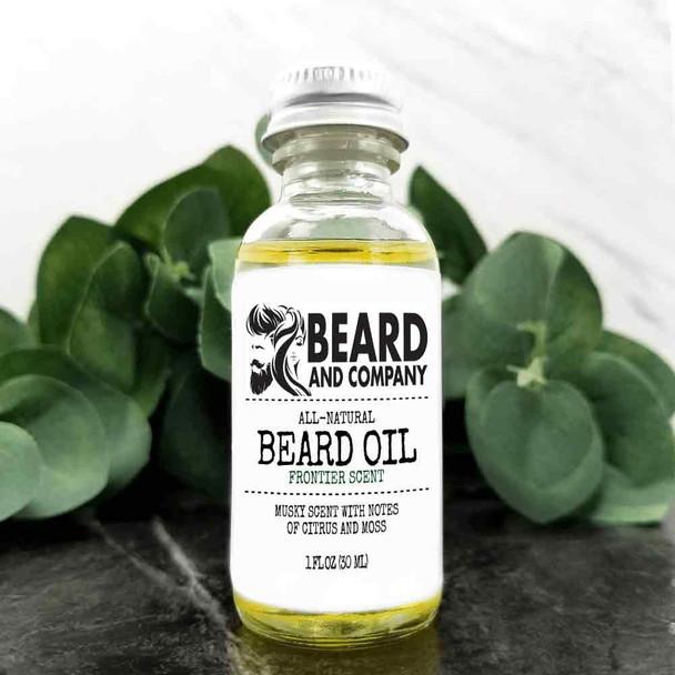 beard and company frontier beard oil