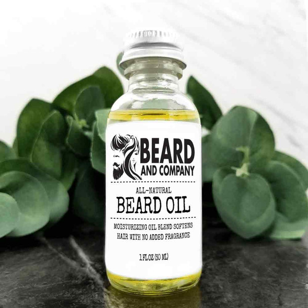 beard and company unscented beard oil