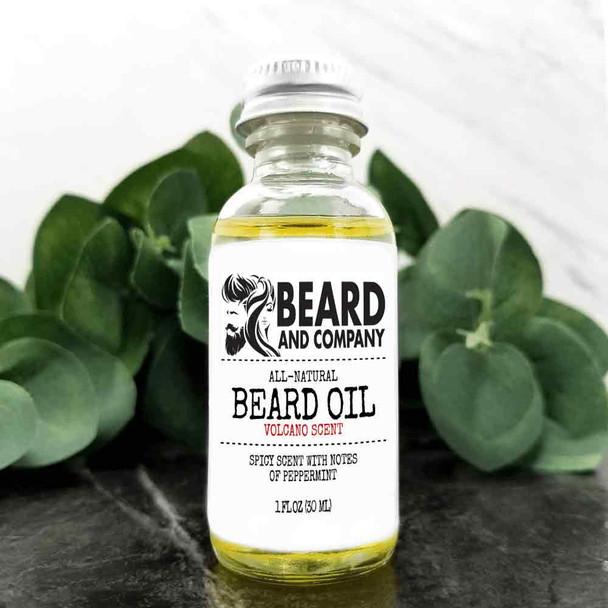 beard and company volcano beard oil