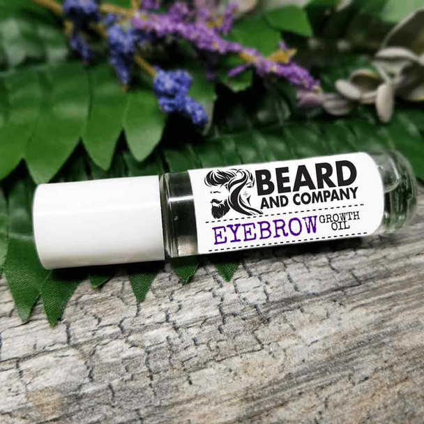 regrow eyebrows Beard and Company natural Eyebrow Growth Oil