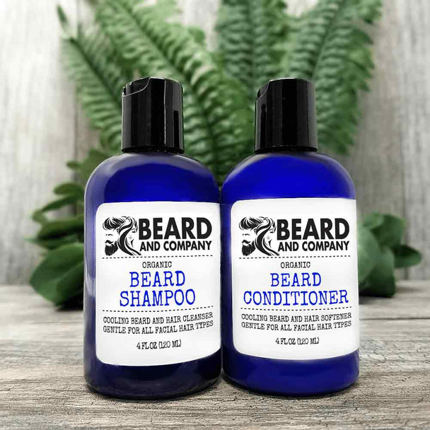 beard and company beard shampoo and conditioner set kit
