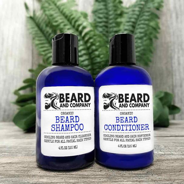 beard and company beard shampoo and conditioner set kit