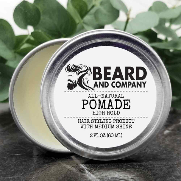 beard and company all natural pomade